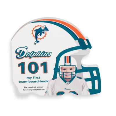 NFL Children's Board Book in Miami Dolphins 101