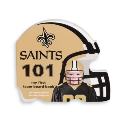 NFL Children's Board Book in New Orleans Saints 101