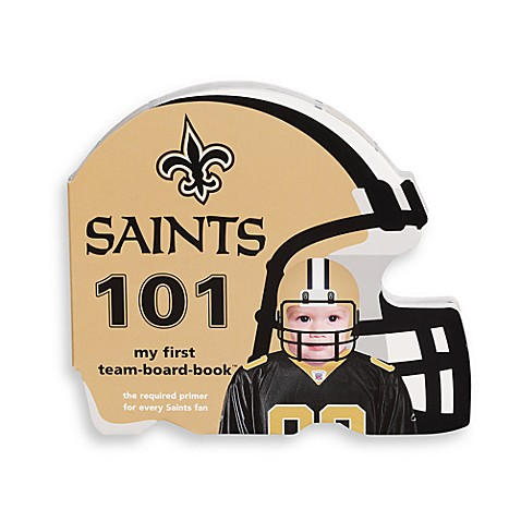 NFL New Orleans Saints 101 Children's Board Book