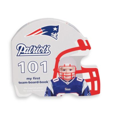 NFL Children's Board Book in New England Patriots 101