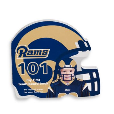 NFL Children's Board Book in St. Louis Rams 101