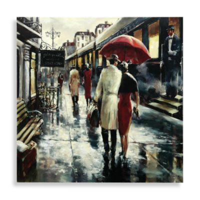 Metro Station Canvas Wall Art