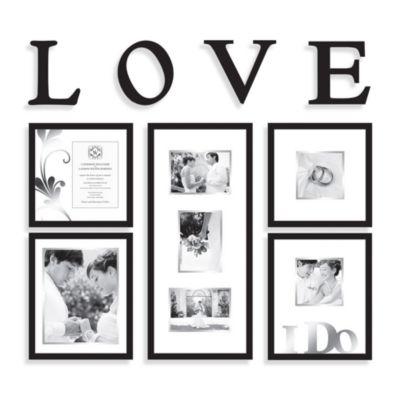 Wallverbs™ Bridal 9-Piece Frames and Plaques Set