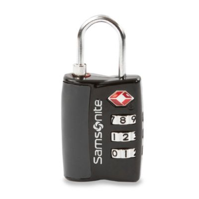 Samsonite® Large Dial Travel Sentry Combo Lock