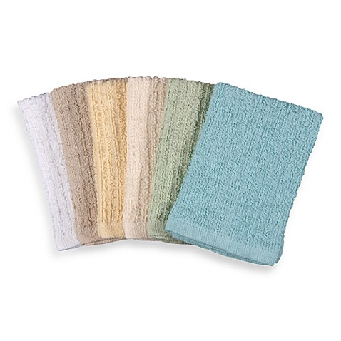 Real Simple® Bar Mop Dish Cloths in Multicolor (Set of 6)