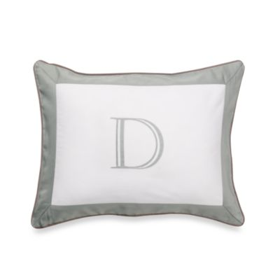 Spotted Monogrammed Pillow