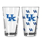 University of Kentucky Collegiate Color Changing Logo Glasses (Set of 2)