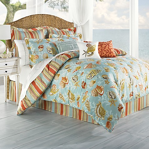 Coral Beach Complete Bed Ensemble