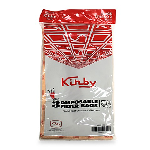 Kirby® Style 2 Heritage Disposable Filter Bags (set of 3)