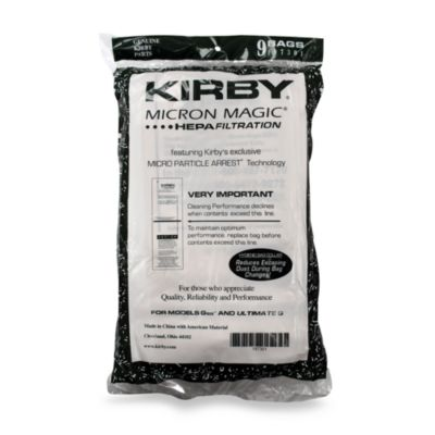 Kirby® Micron Magic® 9-Pack Disposable Dust Bags for G6 and Ultrimage G Series Vacuums