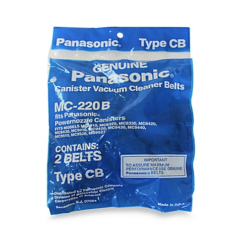 Panasonic® Style CB Belt for Power Nozzle Canister Vacuums