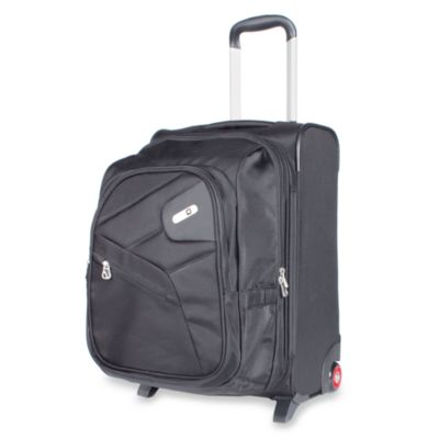 ful 2-in-1 Luggage/ Backpack Set in Black