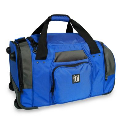 FUL™ Fast Forward 21-Inch Wheeled Duffel in Cobalt Blue