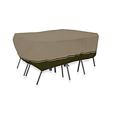 Classic Accessories® Villa Patio Rectangular/Oval Table & Chair Set Cover