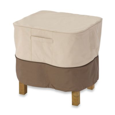 Veranda Square Ottoman/Side Table Cover