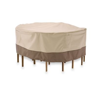Veranda Large Round Table and Chair Set Cover