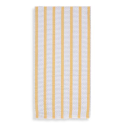 Gourmet Classics Kitchen Towel in Yellow