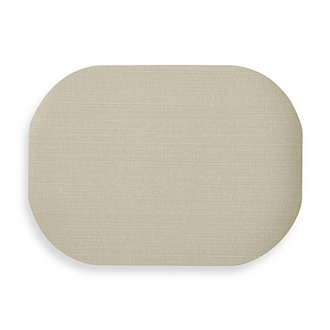 Buy Dasco Cabo Oval Laminated Placemat In Sand From Bed