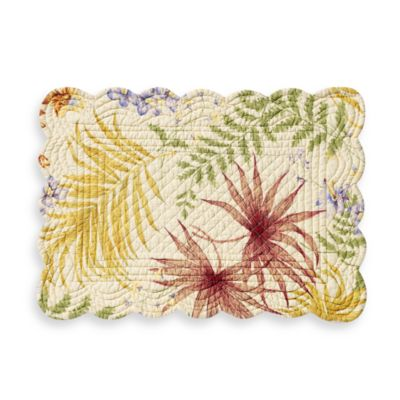 Fiji Reversible Quilted Placemat