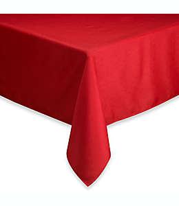 Mantel rectangular de poliéster Basics®, de 1.52 x 2.13 m color rubí