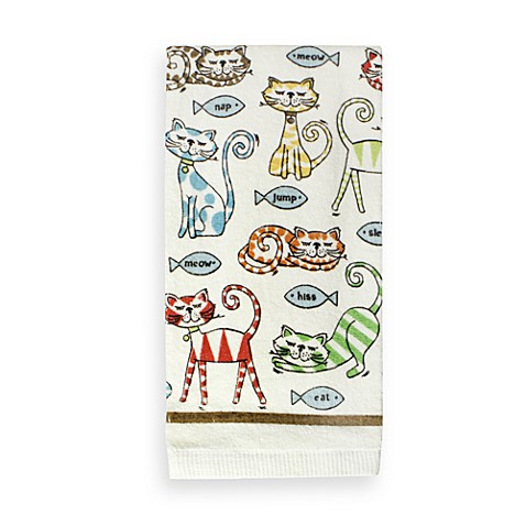 Cat's Pajamas Kitchen Towel
