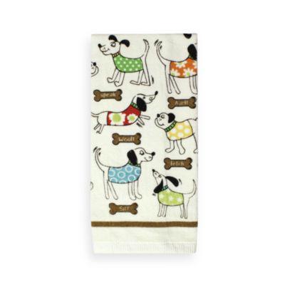 Bone Appetite Print Kitchen Towel