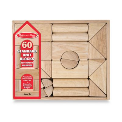 Melissa & Doug® Wooden Standard Unit Blocks
