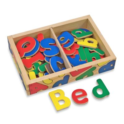 Melissa & Doug® Magnetic Wooden Alphabet