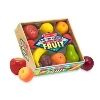 Melissa & Doug® Play-Time Produce Farm Fresh Fruit