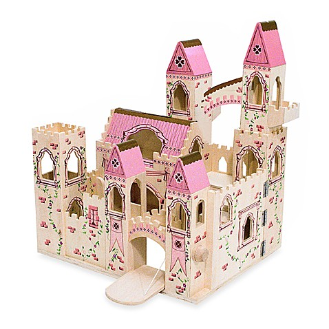 Melissa & Doug® Folding Princess Castle