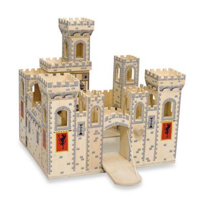 Melissa & Doug® Deluxe Folding Medieval Castle