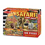 Melissa & Doug® 100 Piece Safari Floor Puzzle
