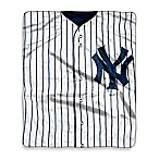 New York Yankees Raschel Throw