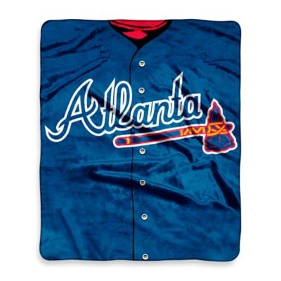MLB Atlanta Braves Retro Raschel Throw Blanket