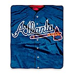Atlanta Braves Raschel Throw