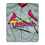 St. Louis Cardinals Raschel Throw