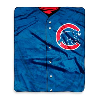 Chicago Cubs Raschel Throw