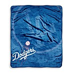 Los Angeles Dodgers Raschel Throw