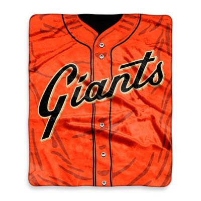 MLB San Francisco Giants Retro Raschel Throw Blanket