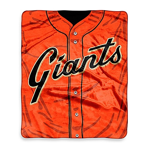 San Francisco Giants Raschel Throw