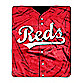Cincinnati Reds Raschel Throw