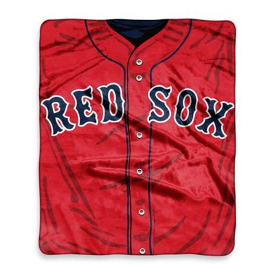 MLB Boston Red Sox Retro Raschel Throw Blanket