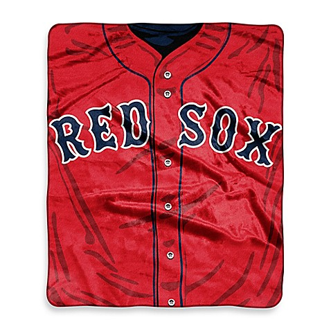 Boston Red Sox Raschel Throw