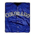 Colorado Rockies Raschel Throw
