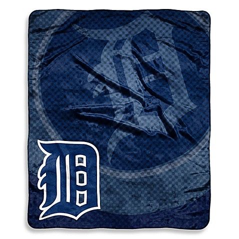 Detroit Tigers Raschel Throw