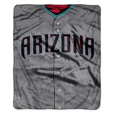 MLB Arizona Diamondbacks Retro Raschel Throw Blanket