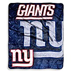 New York Giants Raschel Throw