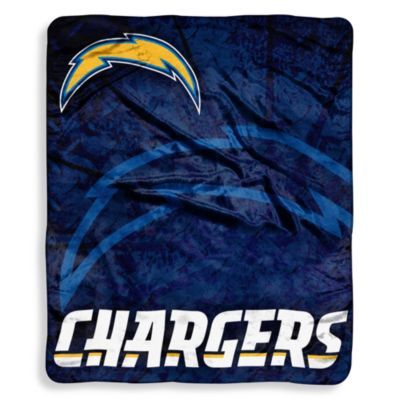 San Diego Chargers Raschel Throw
