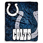 Indianapolis Colts Raschel Throw
