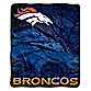 Denver Broncos Raschel Throw